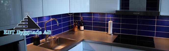 Blått kök